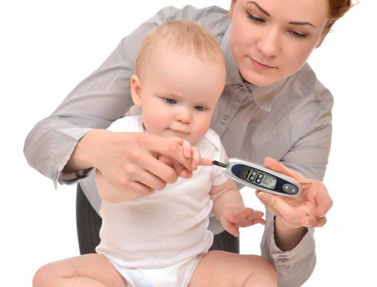 Как быстро развивается сахарный диабет у детей