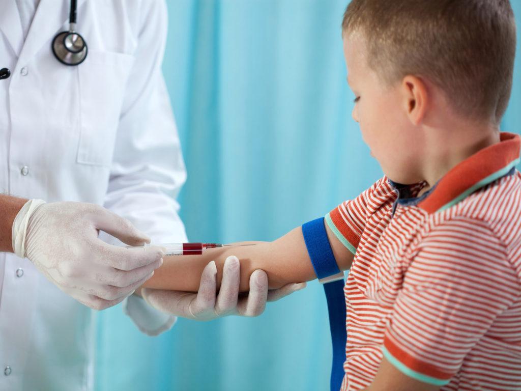 Густая кровь у ребенка из вены