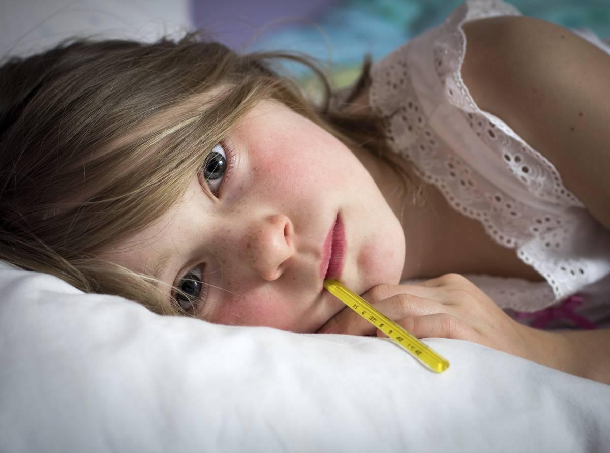 Герпес на теле у ребенка лечение
