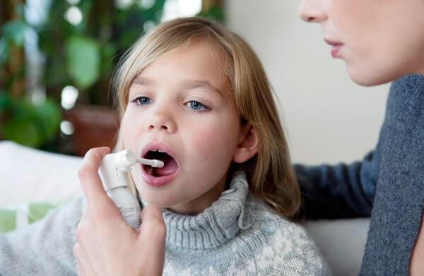 Спрей для горла для детей 1–4 лет