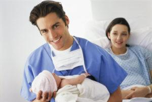 Перелом ключицы у новорожденных
