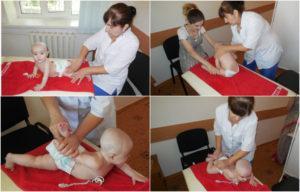 Гимнастика для детей до года при дисплазии тазобедренных суставов