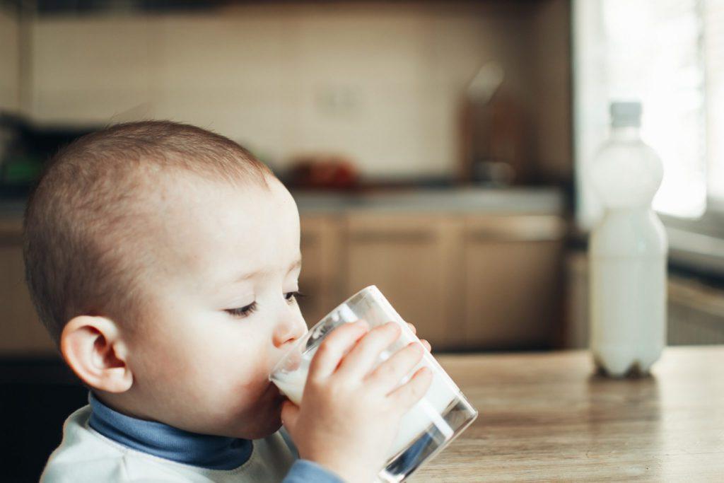 Если у малыша аллергия на молоко