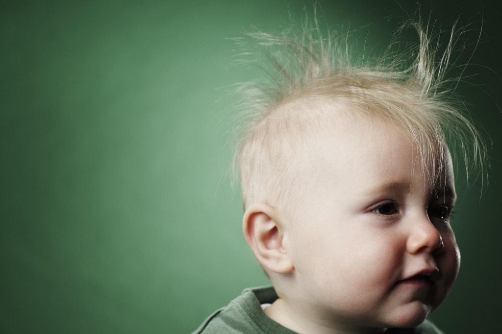 У маленького ребенка выпадают волосы