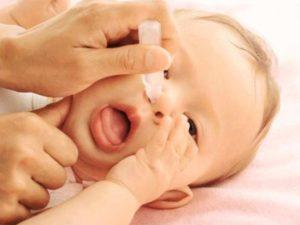 Капли от аллергии для детей до года глазные и в нос