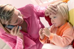 Когда нужно сбивать температуру ребенку до года
