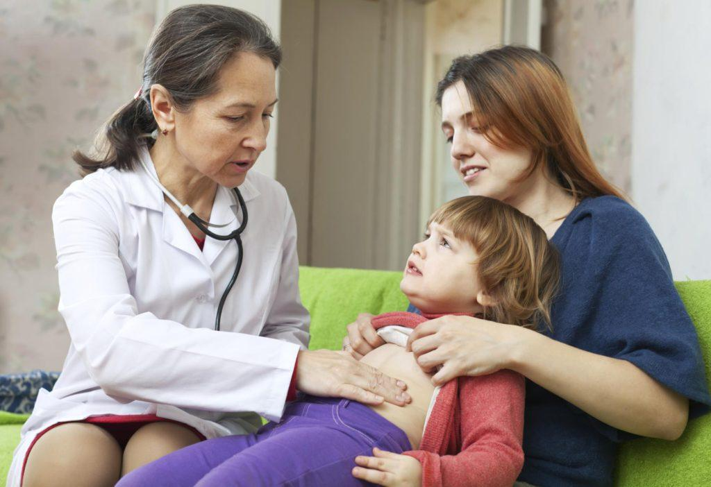 У ребёнка болит живот что можно дать