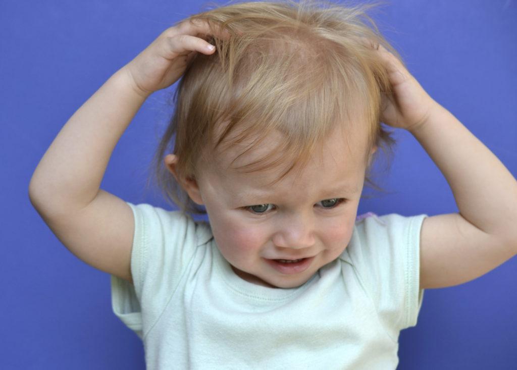 Что делать родителям, если их ребенок чешется