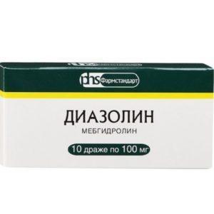 Диазолин инструкция для детей таблетки